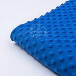 Плюш minky светло-синего цвета М-79, фото 2