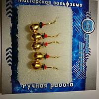 Мормышка Капля 4  ВОЛЬФРАМ (гальваника)