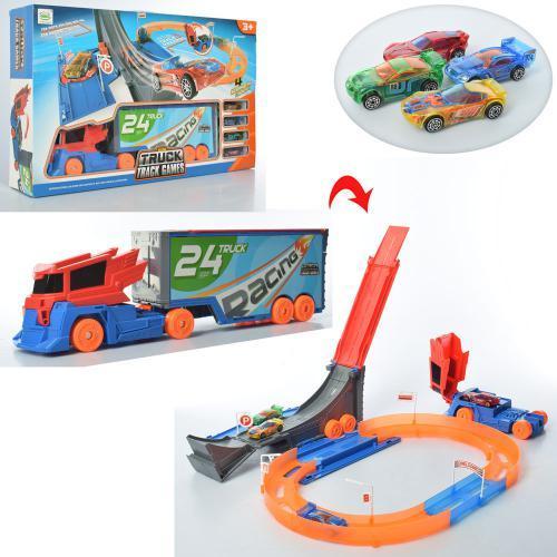 Игровой набор Трейлер-трек 6688-247 набор-трансформер для мальчиков