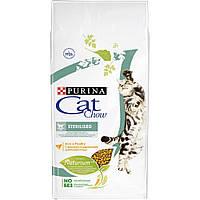 Cat Chow сухий корм для стерилізованих кішок 0,4 КГ