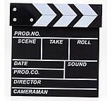 Кинохлопушка для видеосъемок и фотоссесий, фото 2