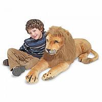 Гигантский плюшевый лев, 1,90 м, Melissa&Doug