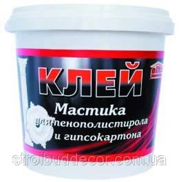 Клей Мастика «Штрих - 3» 1,5 кг для  крепления декоративных бордюров, плит и утеплителя