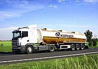 Послуги перевезення світлих нафтопродуктів по Україні