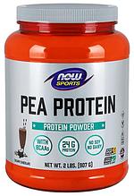 Гороховый протеин, Now Foods, Pea Protein, 907 gram, 33 порции