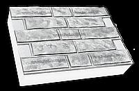"""Термопанели """"Колотый кирпич"""" 600х400, Серый цемент"""