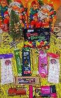 Новогодний набор полезных сладостей. Полезный подарок.