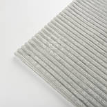 Плюш в полоску stripes светло-серого цвета, фото 3