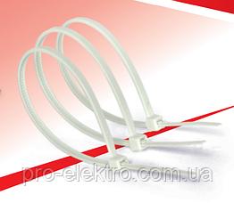 Кабельні хомути RIGHT HAUSEN 150 х 4 мм білі HN-184131