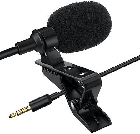 Петличный микрофон для смартофона Xiaomi Mi 9T Pro, iPhone , Samsung, Sony., фото 2