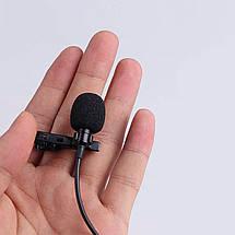 Петличный микрофон для смартофона Xiaomi Mi 9T Pro, iPhone , Samsung, Sony., фото 3