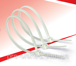 Хомуты кабельные RIGHT HAUSEN 150 х 3 мм белые HN-184111