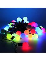 Гирлянда светодиодная шарики малые (led) 40 лампочек