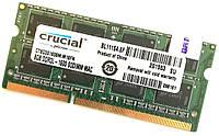 Оперативная память для ноутбука Crucial SODIMM DDR3L 8Gb 1600MHz 12800s CL11 (CT8G3S160BM.M16FN) Б/У, фото 1