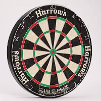 Мишень для игры в дартс из сизаля CLUB CLASSIC DARTBOARD (d-45см)