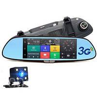 """Видеорегистратор автомобильны-зеркало D35 (LCD 7""""GPS)"""