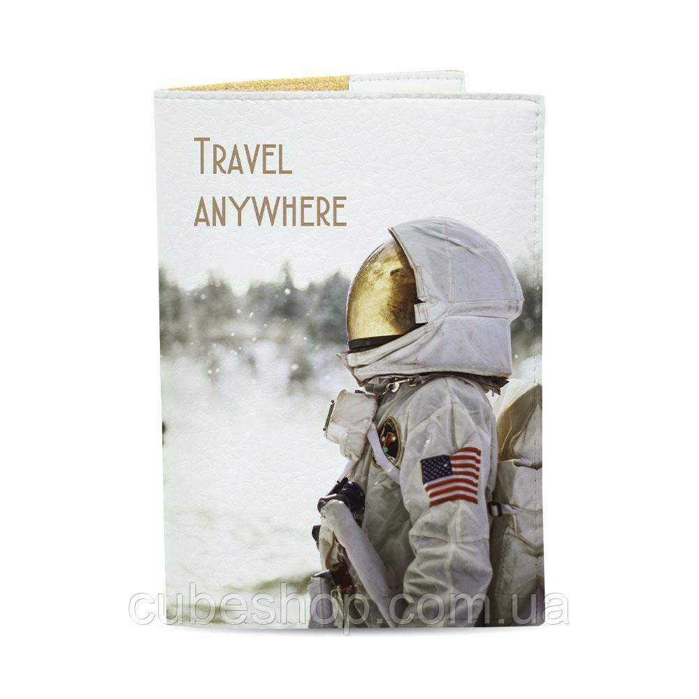 Обложка на паспорт Travel Anywhere