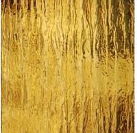 Скло візерункове рифленное Кора (Сильвит) жовтий 4мм
