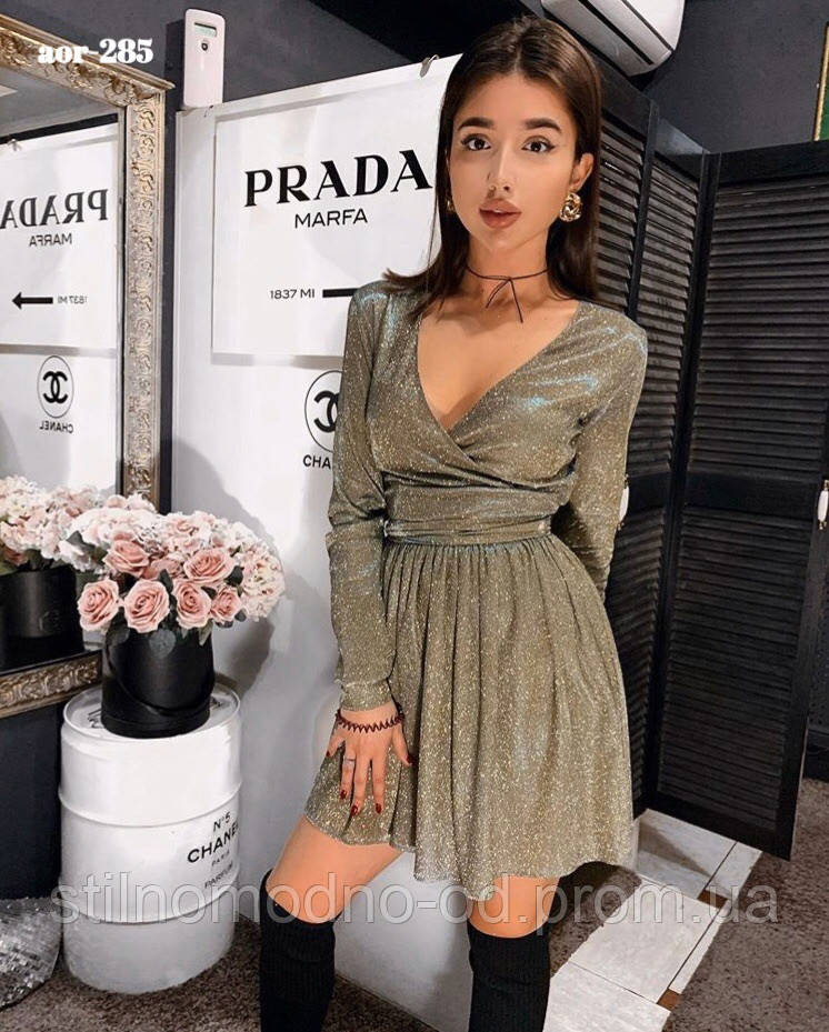 """Сукня жіноча """"Люрекс"""" від Стильномодно"""