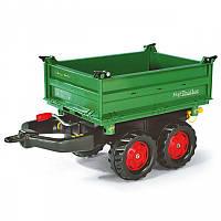 Rolly Toys Прицеп  2 осьний, Зелений. (122202)