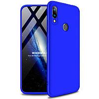 Чехол GKK 360 градусов для Xiaomi Mi Mix 2 Синий
