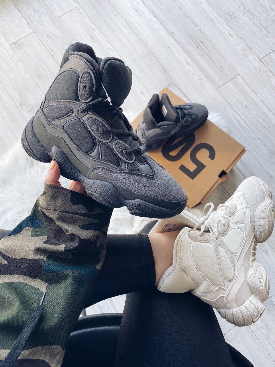 """Кроссовки adidas Yeezy 500 """"Черные"""""""