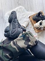 """Кроссовки adidas Yeezy 500 """"Черные"""", фото 3"""