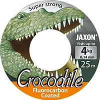 Леска Jaxon Crocodile Fluorocarbon 0.14 25m разр.нагрузка 4 кг