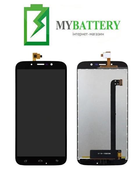 Дисплей (LCD) Bravis A553 Discovery Dual Sim/ S-TELL M555/ UMI Rome X с сенсором черный