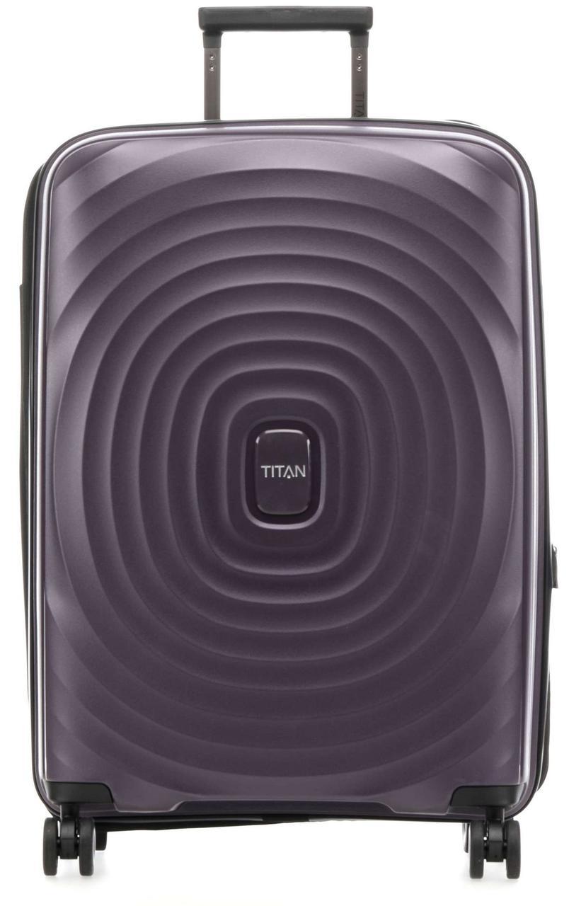 Средний пластиковый чемодан Titan Looping  71,82 л фиолетовый