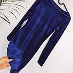 """Сукня жіноча """"Велюр"""" від Стильномодно, фото 6"""