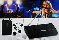 Радиосистема с беспроводным головным микрофоном, Shure SH-201, фото 1
