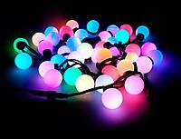 Гирлянда крупные шарики 40 led светодиодная 5 м.