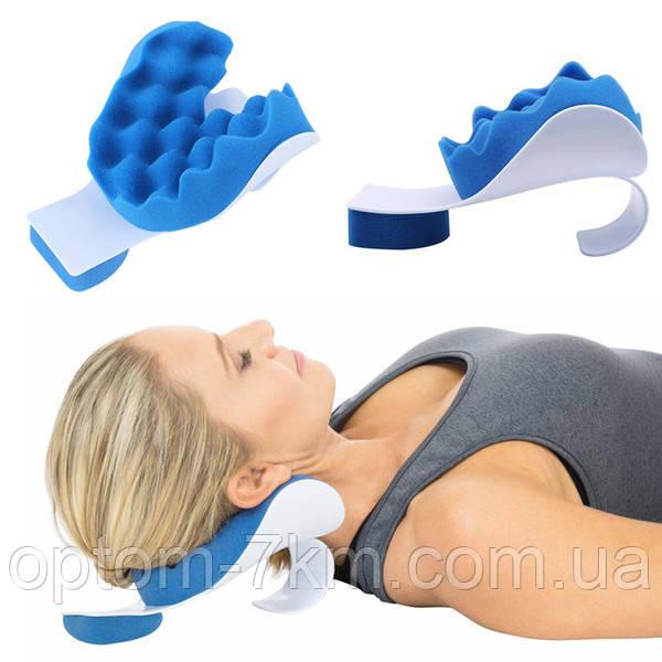 Релаксатор шиї і плечей Pillow blue 3493 VJ