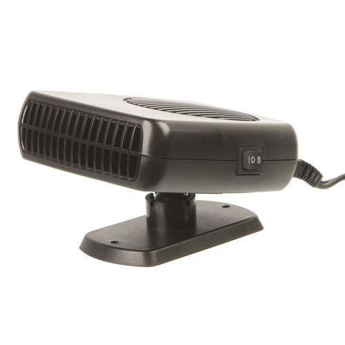 Обогреватель-вентилятор Adenki 2 в 1 от прикуривателя 150 Вт Черный (46-997794601)