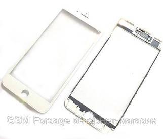 "Стекло дисплея (для переклейки) iPhone 7 Plus (5.5"") White complete with frame"