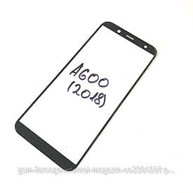 Стекло дисплея Samsung Galaxy A6 SM-A600 (2018 / для переклейки Black