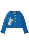 Кардиган детский вязаный синий Sail Blue/Rabbit