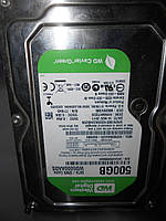 Жесткий диск Western Digital Caviar Green 500GB 5400rpm 32MB WD5000AADS 3.5 SATA II