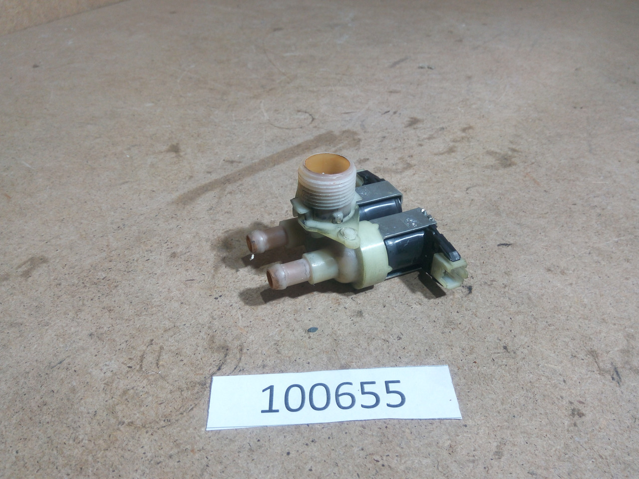 Клапана набора воды Indesit WITL86. 1666901  Б/У