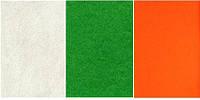 Набор  фетр листовой_экрю, зеленый, оранж 1,0 мм (жесткий)