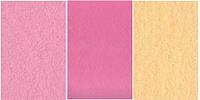 Набор  фетр листовой_розовый, персиковый 1,0 мм (жесткий)