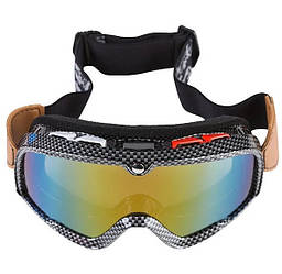 Очки лыжные M0002 зеркальные