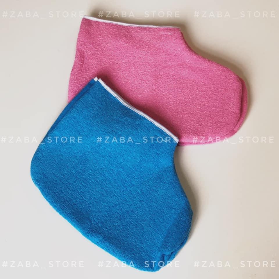 Носочки (сапожки)  для парафинотерапии на липучках, пара