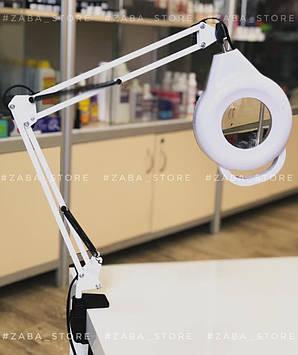 Лампа-лупа с светодиодной подсветкой MP-33 настольная 3,5Х диоптрий