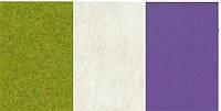 Набор  фетр листовой_сиреневый, белый, зеленый 2,0 мм