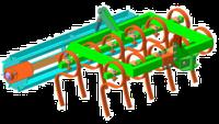 Культиватор суцільного обробітку КН-1М