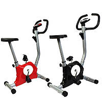 Велотренажер механический 7FIT T8018 Intenso RED (велотренажер для дома, велотренажер для похудения)