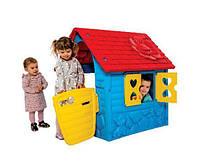 Домик для детей, игровой,пластмассовый с 2 лет, разноцветный (456)