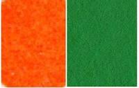 Набор фетр листовой_желторанж, зеленый 3,0 мм